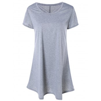 Casual Mini T-Shirt Dress