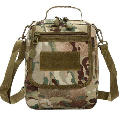 Trendy Camouflage Pattern and Canvas Design Women's Satchel - CP CAMOUFLAGE