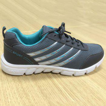 Trendy Hit Colour and Breathable Design Men's Athletic Shoes - 41 41