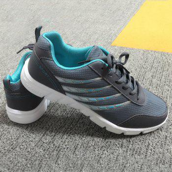 Trendy Hit Colour and Breathable Design Men's Athletic Shoes - 40 40