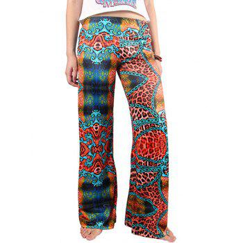 Chic Women's Hit Color Loose Exumas Pants