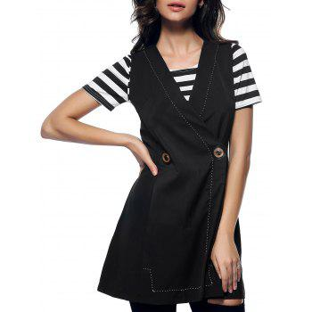 Charming V-Neck Button Design Slimming Women's Waistcoat