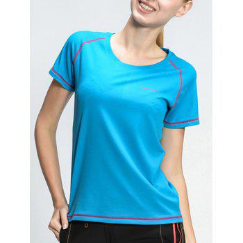 Active Style Quick Dry Sport T-Shirt For Women