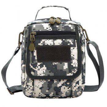 Trendy Camouflage Pattern and Canvas Design Women's Satchel - ACU CAMOUFLAGE ACU CAMOUFLAGE