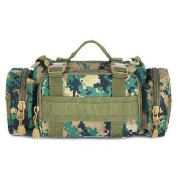 Fashionable Double Pocket and Digital Pattern Design Men's Messenger Bag - DIGITAL JUNGLE CAMOUFLAGE DIGITAL JUNGLE CAMOUFLAGE