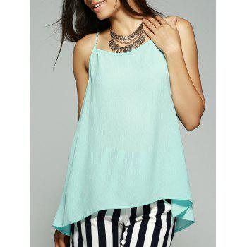 Fashionable Bowknot Decorated Chiffon Tank Top For Women