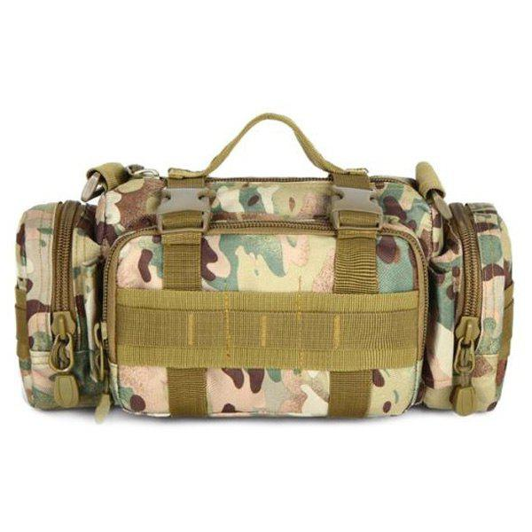 Stylish Multicolor and Camouflage Pattern Design Men's Messenger Bag - JUNGLE CAMOUFLAGE