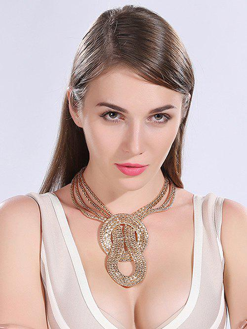 Vintage Multilayered Alloy Necklace