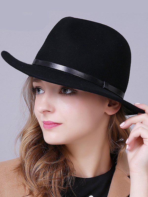 Stylish Wool Fedora Hat