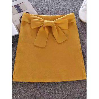Tie Candy Color Skirt