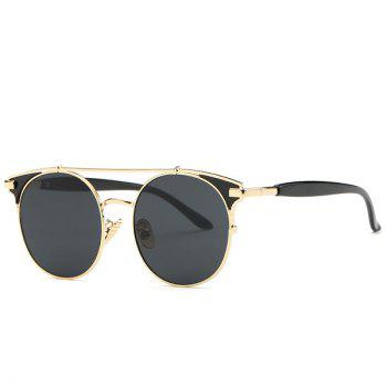 Fashion Crossbar Cat Eye Sunglasses For Women