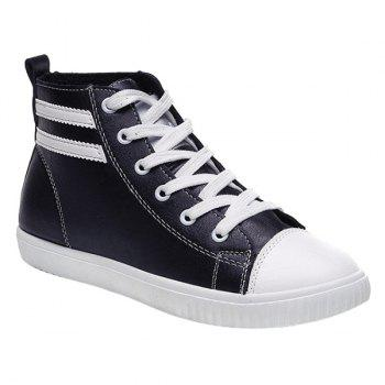 Leisure Lace-Up and Round Toe Design Women's Athletic Shoes