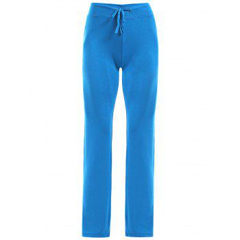Women's High Waist Solid Color Loose-Fitting Sport Pants