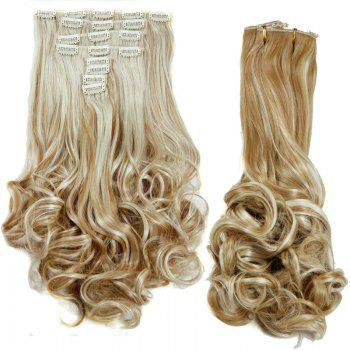 Graceful Women's Medium Curly High Temperature Fiber Hair Extension