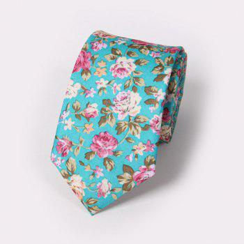 Fashion Small Rose Pattern Wedding Party Tie