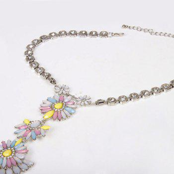 Flower Water Drop Body Chain - COLORMIX