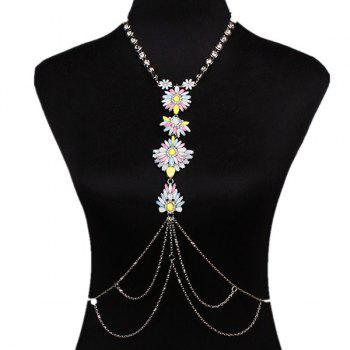 Flower Water Drop Body Chain - COLORMIX COLORMIX