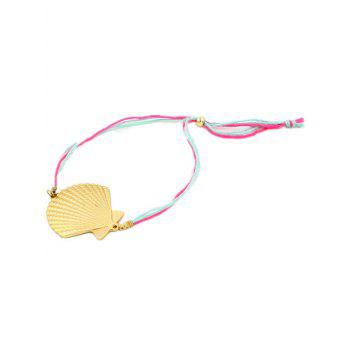 Scallop Charm Anklet