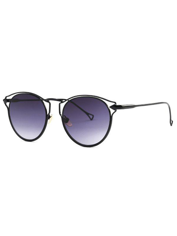 Cute Black Arrow Cat Eye Sunglasses - BLACK