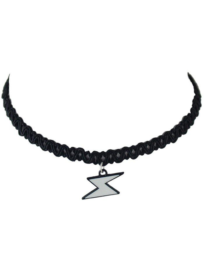 Chic Geometric Pattern Choker