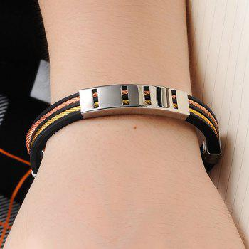 Cable Wire Silicone Bracelet - COLORMIX