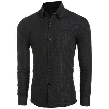 Black Button Down Shirts Cheap Casual Style Online Free Shipping ...