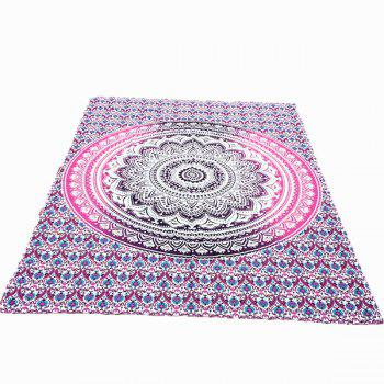 Indian Style Mandala Lotus Flower Pattern Bikini Swimwear Long Scarf
