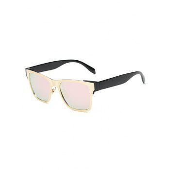 Stylish Color Block Mirrored Trendsetter Sunglasses