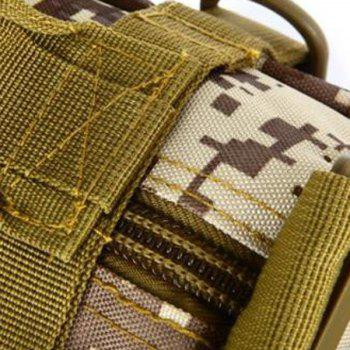 Fashionable Double Pocket and Digital Pattern Design Men's Messenger Bag -  DIGITAL JUNGLE CAMOUFLAGE