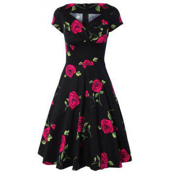 Forever Love Rose Blossom Dress