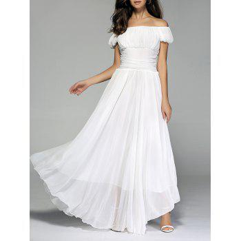 Fairy Off The Shoulder Chiffon Dress