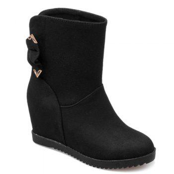 Stylish Bowknot and Increased Internal Design Women's Boots