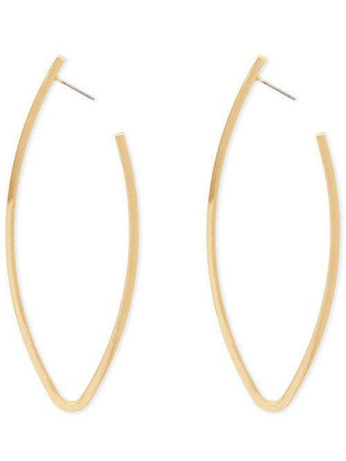 Simple Style Alloy Adorn Earrings