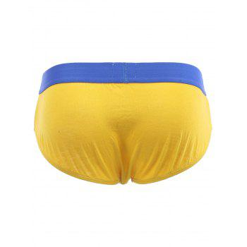 Briefs Cherlamode 3PCS U Convex Pouch Men  's - multicolorcolore XL