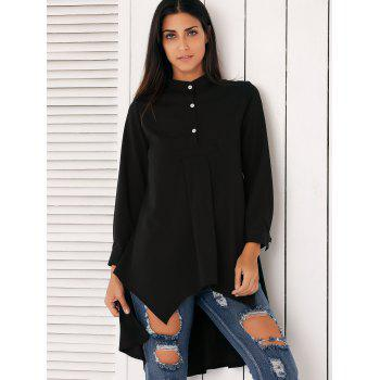 Stylish Asymmetrical Swing Shirt - L L
