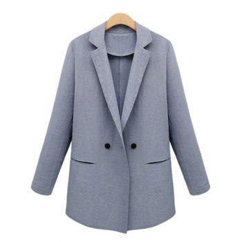 Lapel Neck Button Design Blazer