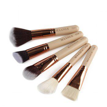 Cosmetic 15 Pcs Nylon Facial Eye Lip Makeup Brushes Set -  COMPLEXION