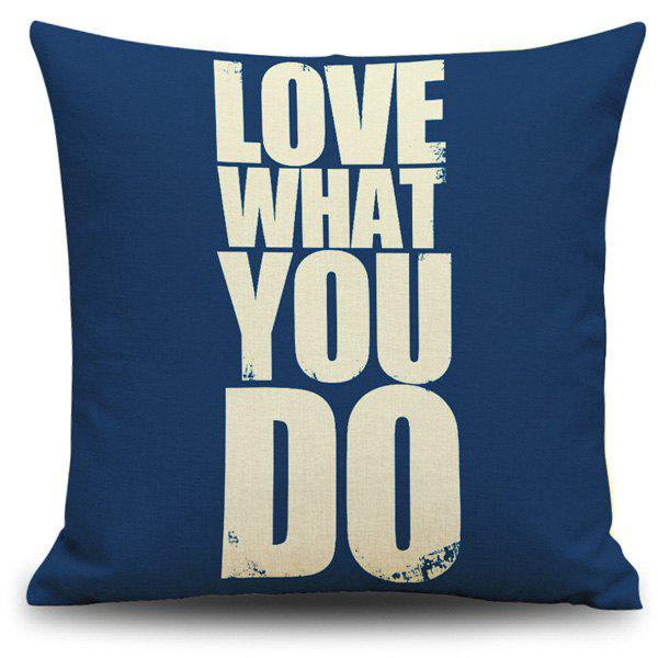 Love What You Do Proverb Printing Pillow Case сумка do what you love