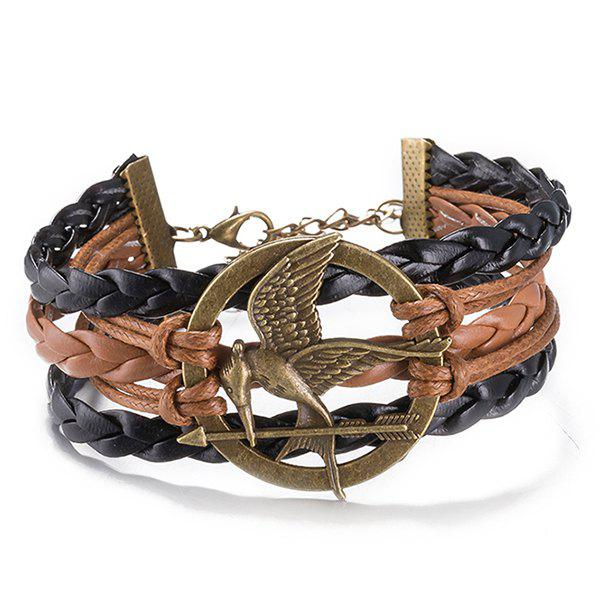 Faux Leather Rope Irenidae Bracelet