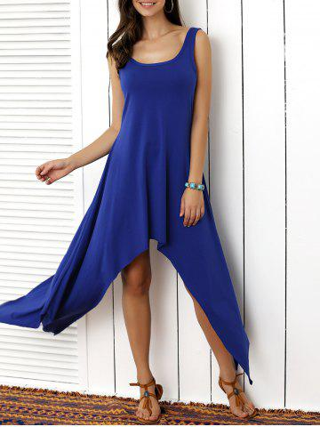 412f0bff688 2019 Sleeveless Scoop Neck Solid Color Dress Online Store. Best ...