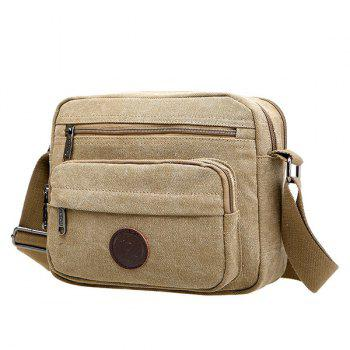 Canvas Metal Shoulder Bag