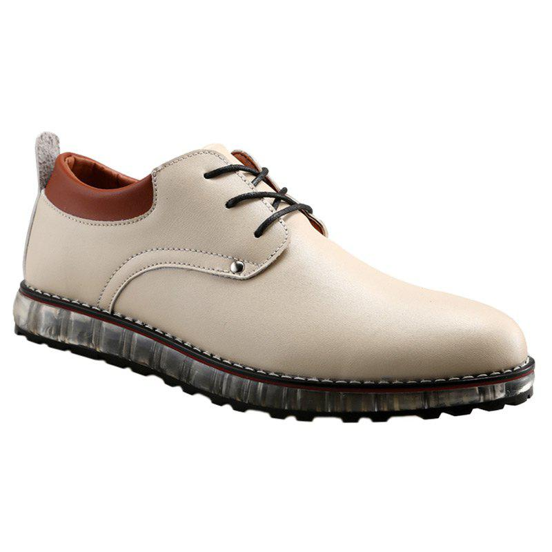Lace-Up Shoes - WHITE 43