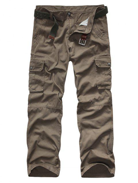 Pantalon Snap bouton Pocket Rivet Zipper Fly Cargo - Bis 29