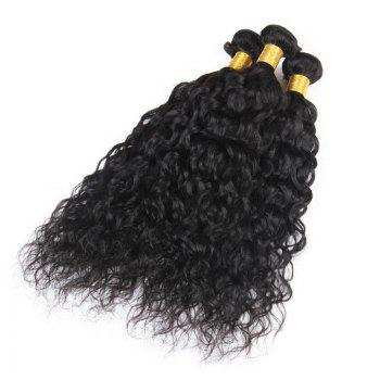 6A Virgin Hair Fluffy Natural Curly 1 Pcs/Lot Brazilian Human Hair Weaves - 10INCH 10INCH