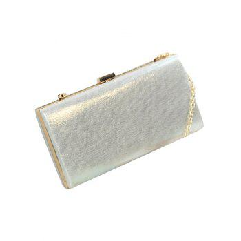 Rhinestone Faux Pearl Evening Bag -  GOLDEN