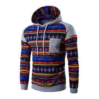 Long Sleeves Printed Hoodie