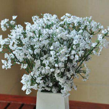A Bouquet of White Small Blossom Artificial Flower - WHITE WHITE