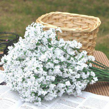 A Bouquet of White Small Blossom Artificial Flower -  WHITE