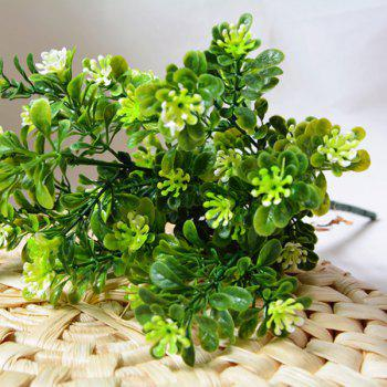 Small Leaf Plant 1 Bunch of Artificial Flower - GREEN