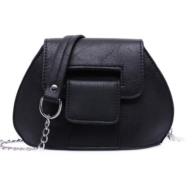 Buy Cover Chains Crossbody Bag BLACK